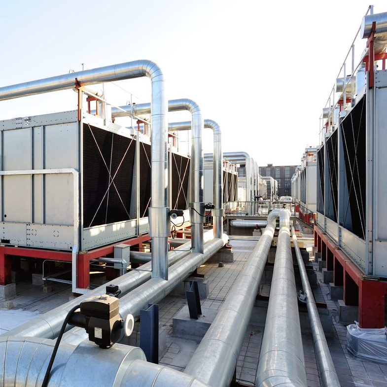 Cooling Tower Cleaning Process